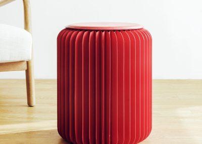 Kira Red Paperfurn